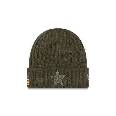 New Era NFL DALLAS COWBOYS Salute to Service 2017 Authentic Sideline Knit OVP