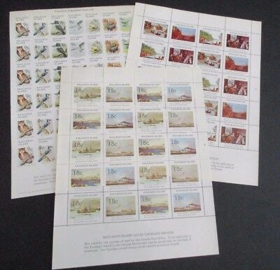 Canada - Kaulbach Island Locals - Complete Mnh Sheets