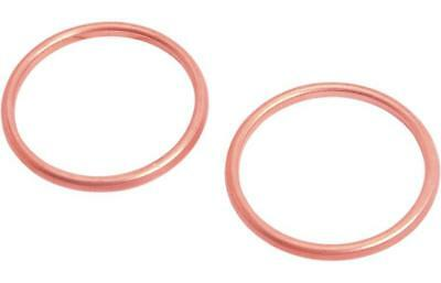 Drag Specialties Copper Exhaust Gaskets for Harley 1966-68 FX FL DS-174739