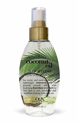 Organix Coconut Oil Weightless Hydrating Oil Mist 120 ml