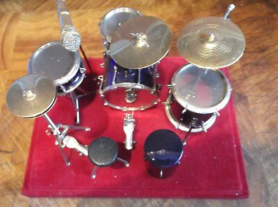 1/12th Scale Dolls House Drum Kit