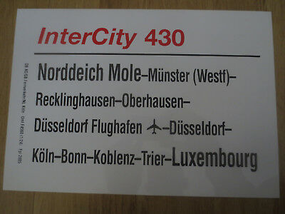 IC 430 Norddeich-Luxembourg