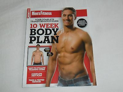 Men's Fitness - 10 Week Body Plan - Complete Transformation Guide - Magbook - Bn