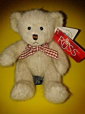"Russ Bears Cameron 6"" Plush Soft Toy"