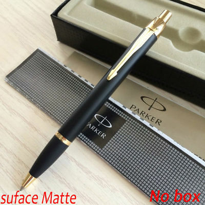 Parker IM Ballpoint Pen Gold Clip Business Parker Matte Black Ball point Pen J9