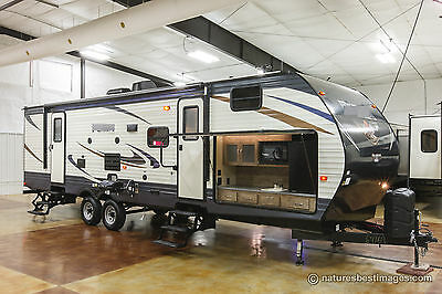 New 2018 30FBSS Front Bunkhouse Slide-Out Travel Trailer Outdoor Kitchen Bunks