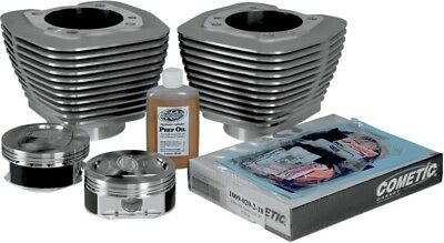 "Revolution Performance Monster Big Bore Kit 114"" Silver (201-122W)"