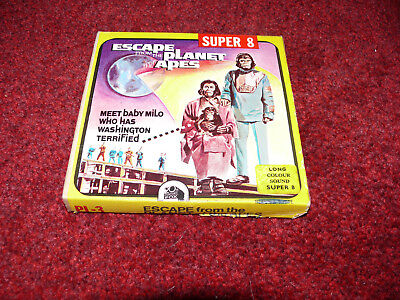 super 8mm cine film escape from planet of the apes