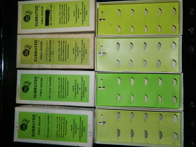 VINTAGE-1960s-SUBBUTEO  -  FOOTBALL-H-W-SPARE-BOXES  - ALL INCLUDE INNERS.