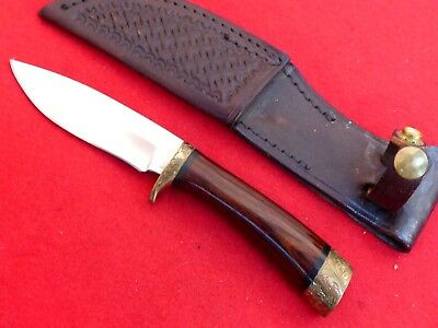 "Fantastic Browning Arms Co USA RARE engraved guard & pommel 7.75"" knife"