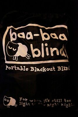 Baa Baa Blackout Blind Children/Baby Travel Blind