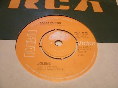 Dolly Parton - Jolene  Rca2675 Uk 1974