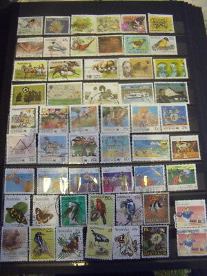 Australia Stamps Lot 4 X 154 Used Stamps - All Scanned Below The Written Descrip