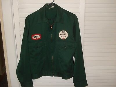 Texaco Vintage or Reproduction Gas Station Attendants Jacket New