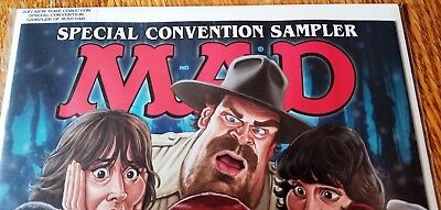 "2017 NYCC MAD Magazine 548 ""Special Convention Sampler"" 16 pages Comic-Con MINT"