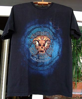 Eluveitie Finntroll Arkona festival 2012 Switzerland men unisex shirt Medium
