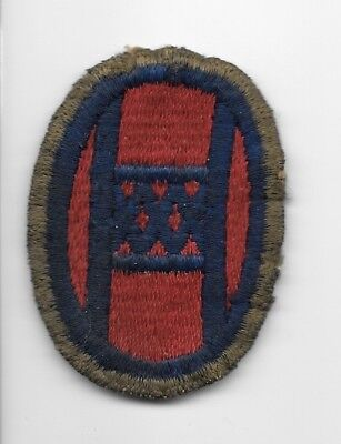 WW2 30th Division PATCH - OD Border - US Army