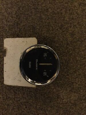 Smiths 52mm Amps Gauge Vintage Classic car