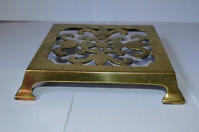 Old Brass Trivet