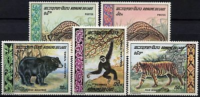 Laos 1969 SG#270-274 Wild Animals MNH Set #D58939