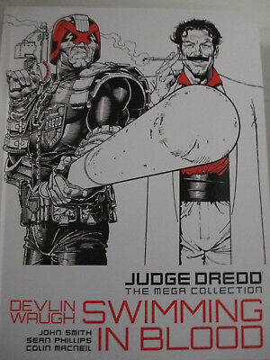 Judge Dredd: The Mega Collection book 14 swimming in blood