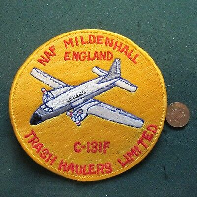 Us Navy Patch (Naf Mildenhall)