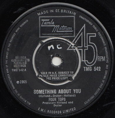 Four Tops  Something About You  Uk Orig  Huge Mod Motown Anthem!!