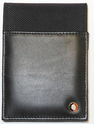 SHEAFFER Pen Company Mini Journal Note Pad, Leather & Canvas, Genuine Product