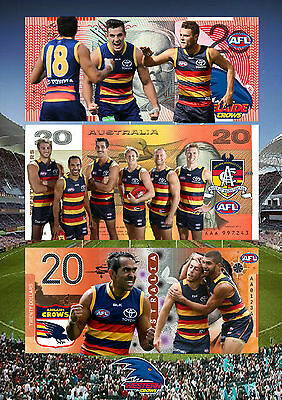 Adelaide Crows 2017 A4 Poster