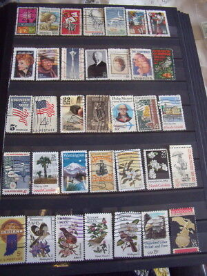 Usa / America Stamps Lot 11 X 173 Used Stamps - All Scanned Below The Written De