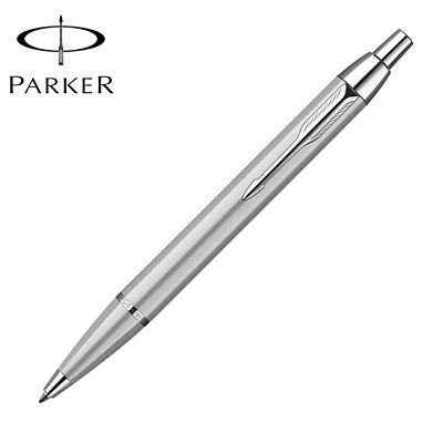 Parker IM Ballpoint Pen Silver Clip Business Parker Silver Ball point Pen J6