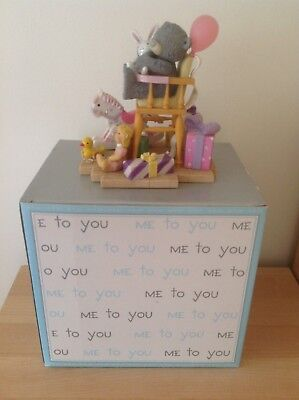 """Bnib Me To You Large Collectable Figure Figurine """"for A Special Girl"""" New Boxed"""