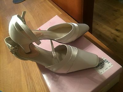 PINK Paradox London Fresh occasion dress shoes - ivory colour New