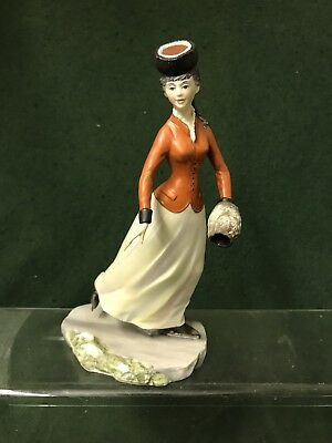 ROYAL WORCESTER  FIGURINE Victorian Series C1969 Emily