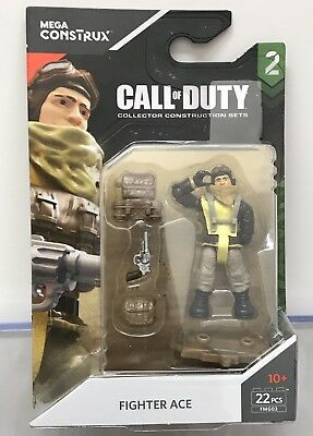 Mega Construx Call of Duty WW2 FIGHTER ACE PILOT SPECIALIST SERIES 2 FMG03