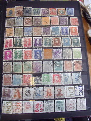 Brasil Stamps Lot 1 X 118 Used Stamps - All Scanned Below The Written Descriptio