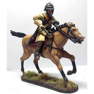 Empire Miniatures 1:32 CW-1455 Civil War Ironside Harqubusier Officer Charging