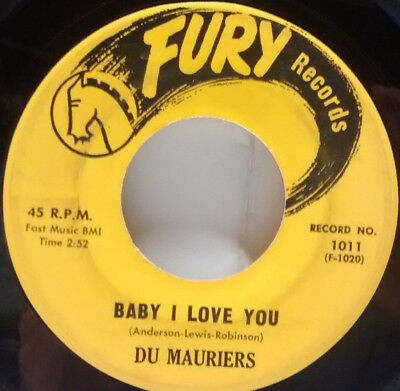 ** Rare Soul ** 1957 Du Mauriers Baby I Love You - All Night Long (Sound Clips)