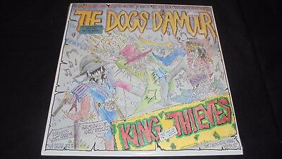 The Dogs D'Amour – King Of The Thieves LP Vinyl SEALED Mint 1st US 1989