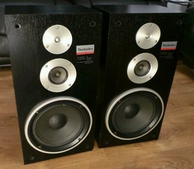 Rare Vintage Technics SB-3130 Stereo HiFi Floor Standing 3-Way Loud Speakers
