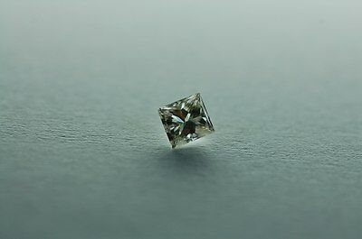 Lose natürliche(clarity enhanced) Diamant Prinzess 1.15 ct (2x0.575) P2/H
