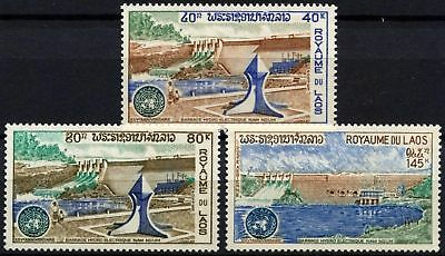 Laos 1972 SG#346-8 Ecafe MNH Set #D58961