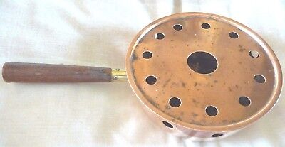 Copper  Chestnut Roasting Pan    GREAT ITEM FOR CHRISTMAS
