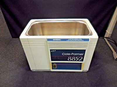 Cole-Palmer Instruments 8852-00 Ultra-Sonic Cleaner (No Lid or Basket)