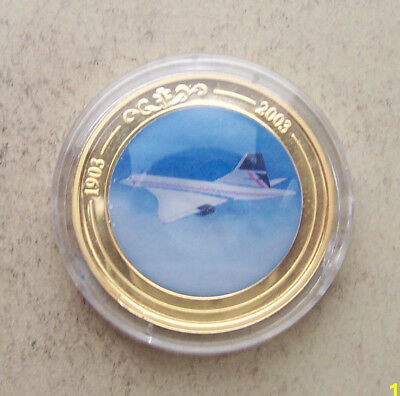 Concorde  100 years of flight coin