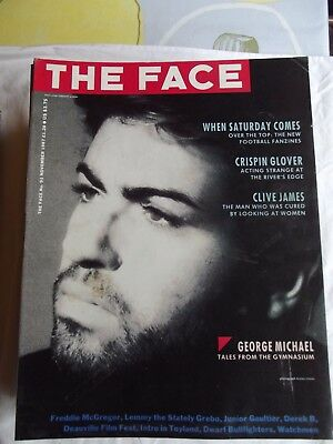 The Face Magazine, November 1987 George Michael, Gaultier, Freddie Mercury, Watc