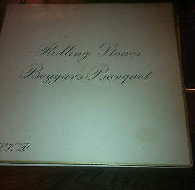 Rolling Stones Lp Beggars Banquet Rsvp Decca Records  Stereo Skl 4955 1968