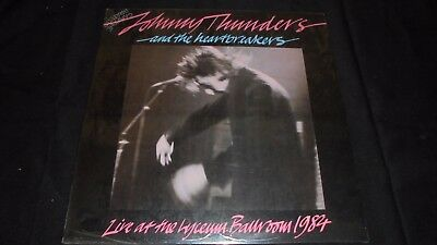 Johnny Thunders & The Heartbreakers, Live At The Lyceum.. 1984 LP vinyl Sealed