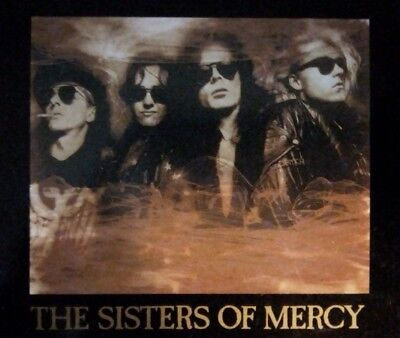 "The Sisters Of Mercy - Doctor Jeep 12"" Limited Edition with Poster."