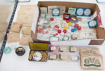 Yep You Guessed It. Another Superb Lot. Deceased Watchmakers Estate. Parts Parts